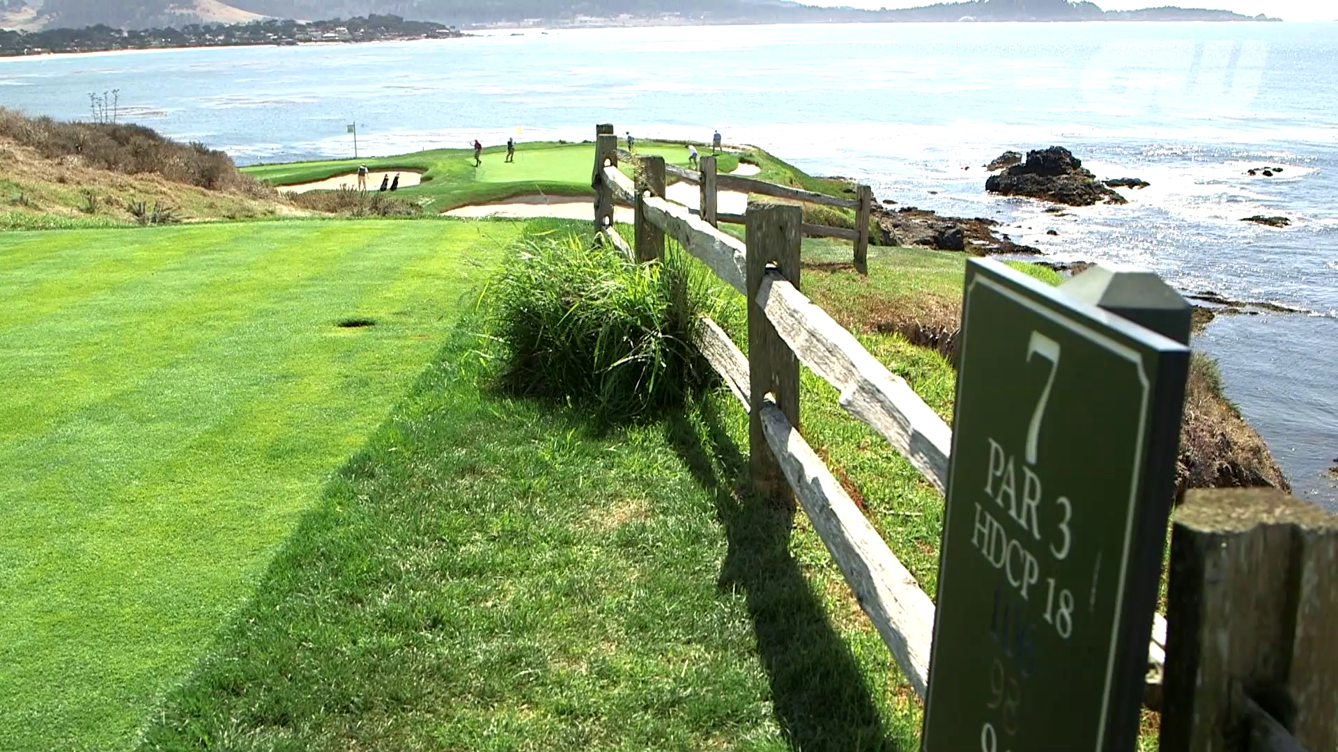 Golfing World Pebble Beach Golf Links Course Report
