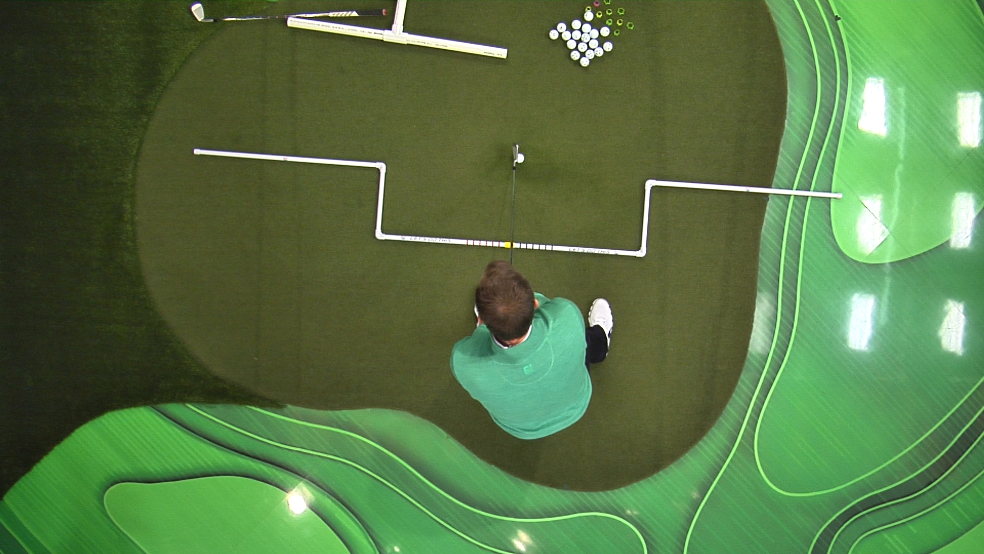 Golf Alignment Tips Drills Amp Video Lessons Golf Channel